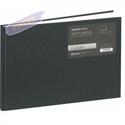 11457 1 blok a4 stylefile sketchbook horizontalni