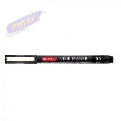 11493 1 liner derwent line maker 0 3mm cerny