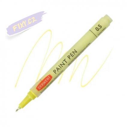 11553 2 liner derwent paint pens lemon yellow