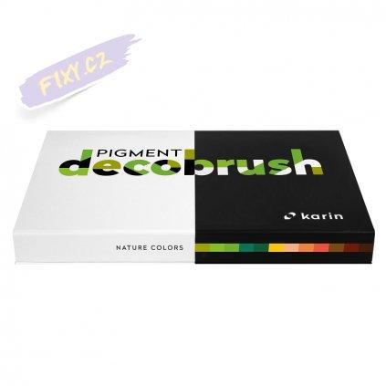 11691 2 karin decobrush pigment 12ks nature colors