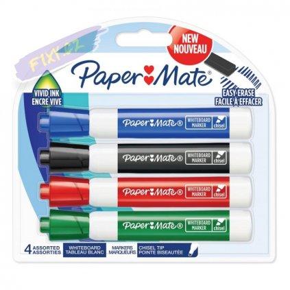 1275 2 paper mate na tabule whiteboard sikmy 4ks barevne