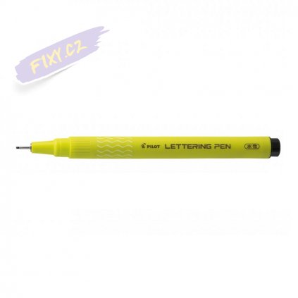 14667 2 pilot kaligraficky lettering pen 10 cerny