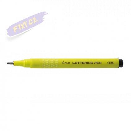 14670 2 pilot kaligraficky lettering pen 20 cerny