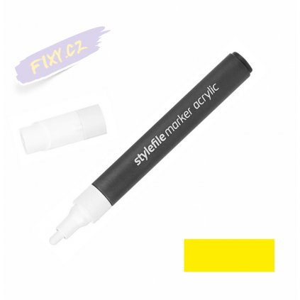 14937 1 stylefile acrylic marker zluty