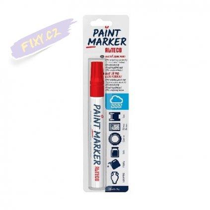 14961 5 alteco paint marker cerveny