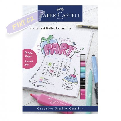 16524 4 faber castell starter set bullet journaling set 9ks