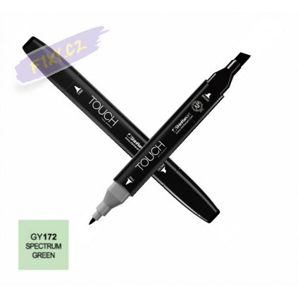 1698 1 gy172 spectrum green touch twin marker