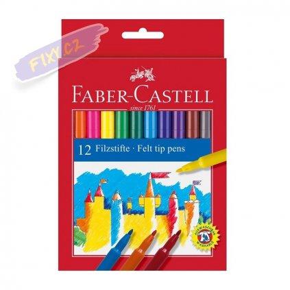 17370 1 faber castell skolni fixy set 12ks