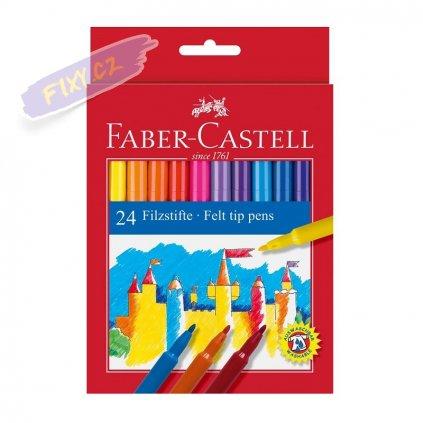 17373 1 faber castell skolni fixy set 24ks