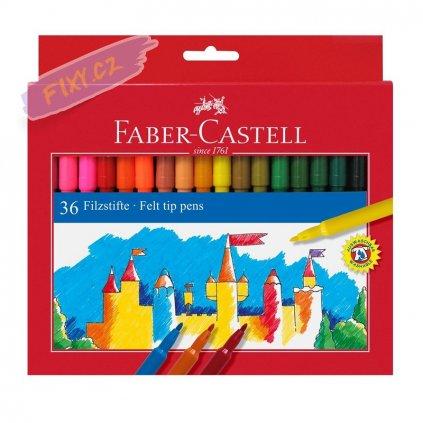 17376 1 faber castell skolni fixy set 36ks