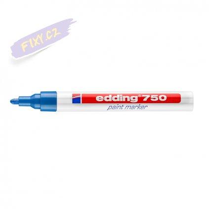 17490 5 edding 750 lakovy popisovac modry