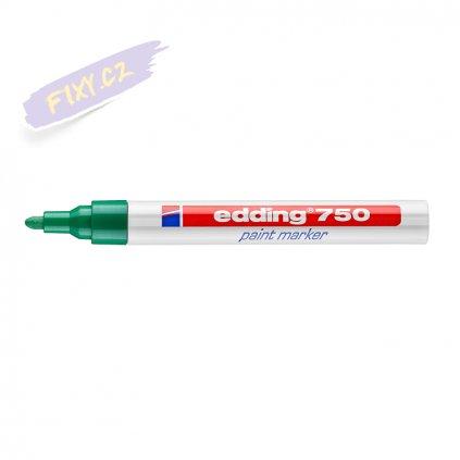 17493 5 edding 750 lakovy popisovac zeleny