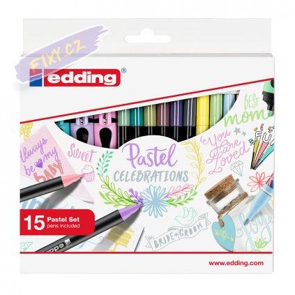 17694 3 sada edding pastel celebratrations 15ks