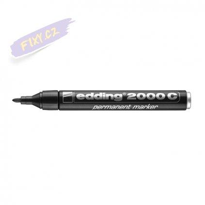 17712 2 edding 2000 c permanentni popisovac cerny