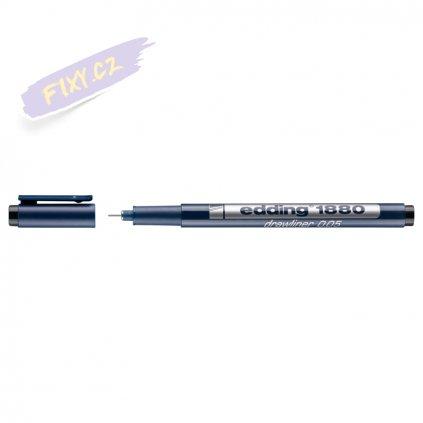 18012 2 liner edding 1880 drawliner cerny 0 05mm