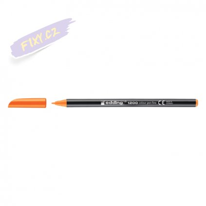 18627 1 edding 1200 na papir neonove oranzova