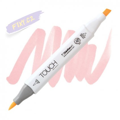 1992 2 r28 fruit pink touch twin brush marker