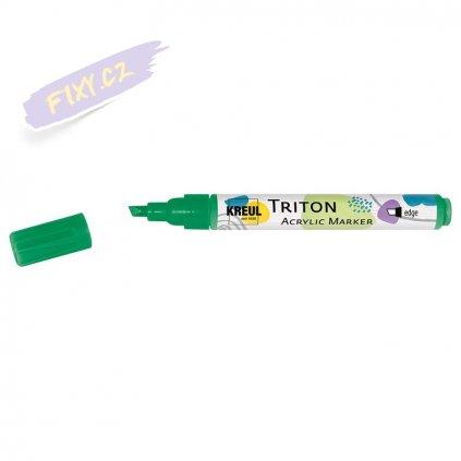 19995 4 akrylovy popisovac triton solo goya m zeleny