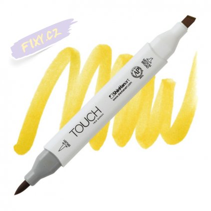 2031 2 y44 fresh green touch twin brush marker