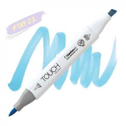 2097 2 b67 pastel blue touch twin brush marker