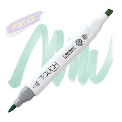 2100 2 b68 turquoise blue touch twin brush marker