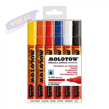 21597 2 molotow akrylovy one4all 4mm 6ks zakladni a