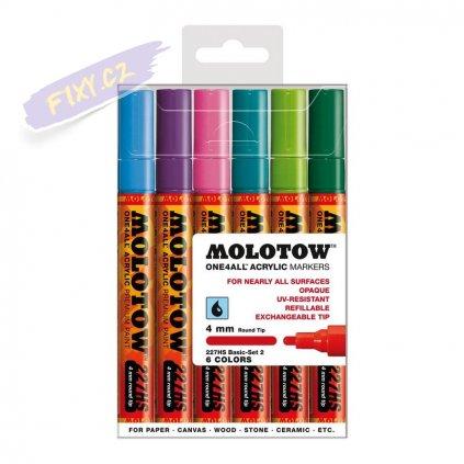 21600 2 molotow akrylovy one4all 4mm 6ks zakladni b