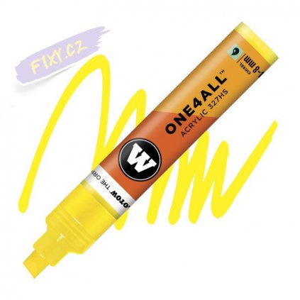 21777 1 molotow akrylovy one4all 327hs chisel zink yellow