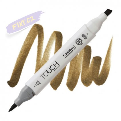 2181 2 br99 bronze touch twin brush marker
