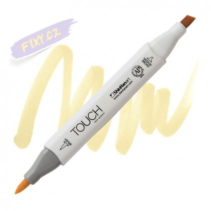 2202 2 br109 pearl white touch twin brush marker