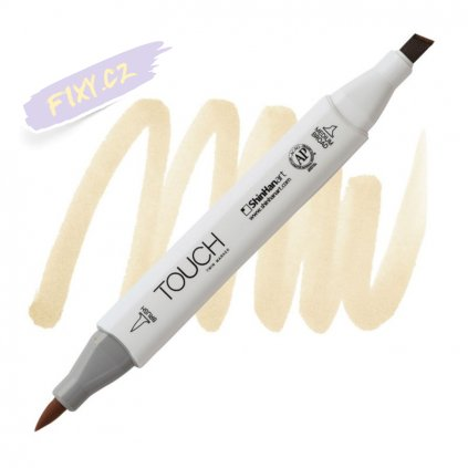 2211 2 br113 peanut touch twin brush marker