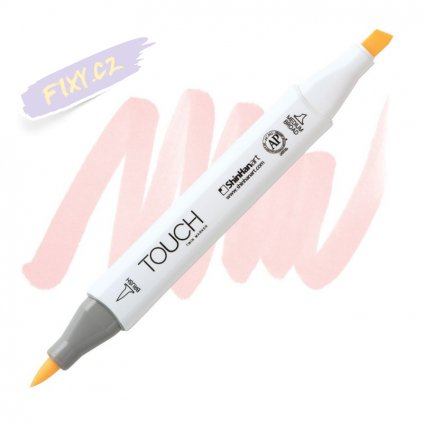 2241 2 r131 skin white touch twin brush marker