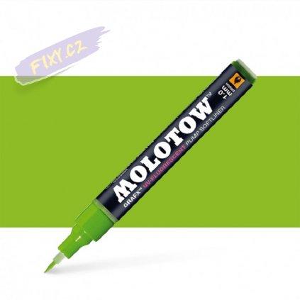 22437 3 molotow lihovy grafx zeleny uv fluorescent neon brush
