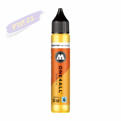 22470 1 molotow refill ink pro akrylovy one4all 30ml zink yellow