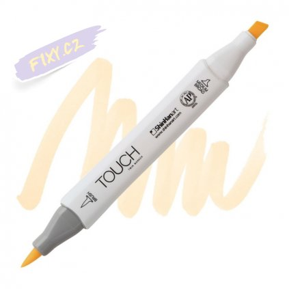 2250 2 br134 raw silk touch twin brush marker
