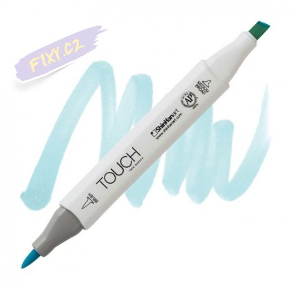 2277 2 b143 mint blue touch twin brush marker