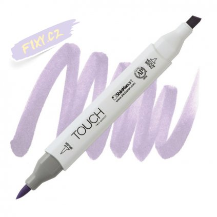 2283 2 p145 pale lavender touch twin brush marker