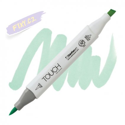 2310 2 gy172 spectrum green touch twin brush marker