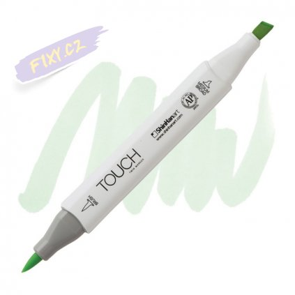 2316 2 gy174 spring dim green touch twin brush marker