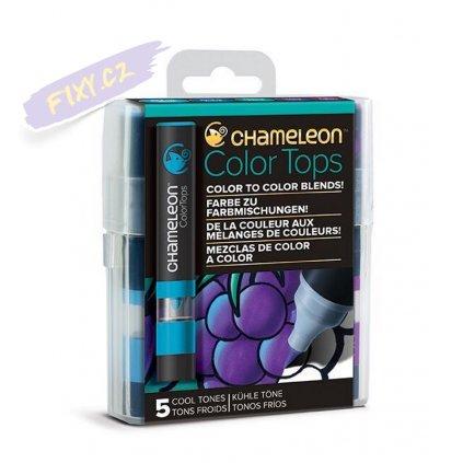 23283 5 chameleon color tops 5ks studene tony