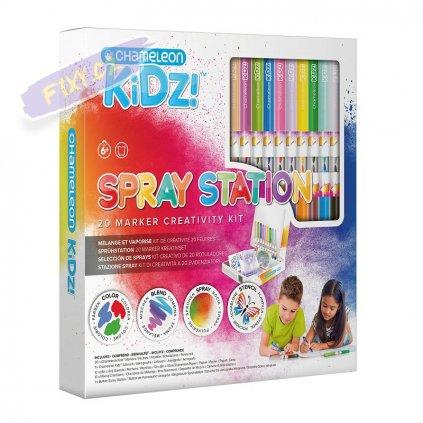 23538 6 chameleon detsky set kidz spray station 20ks