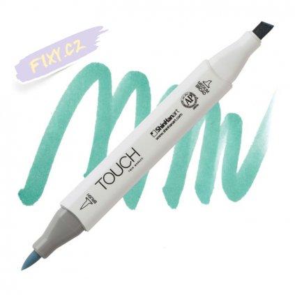 2391 2 bg251 verona blue touch twin brush marker
