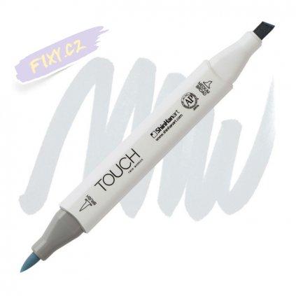 2433 2 bg1 blue grey touch twin brush marker