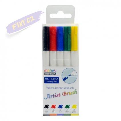 24447 1 marvy artist brush sada 5ks primary