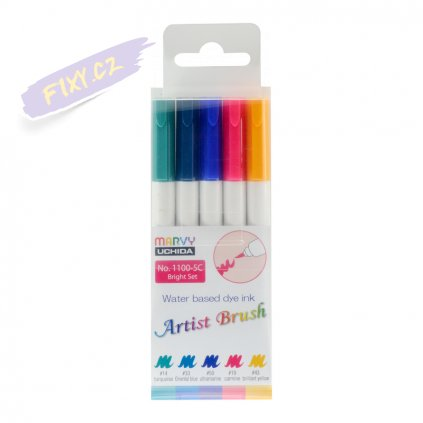 24453 1 marvy artist brush sada 5ks bright