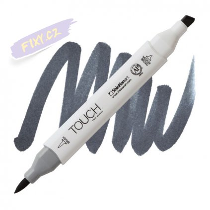 2487 2 cg8 cool grey touch twin brush marker