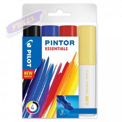 25524 3 pilot pintor akrylova sada 4ks b essentials