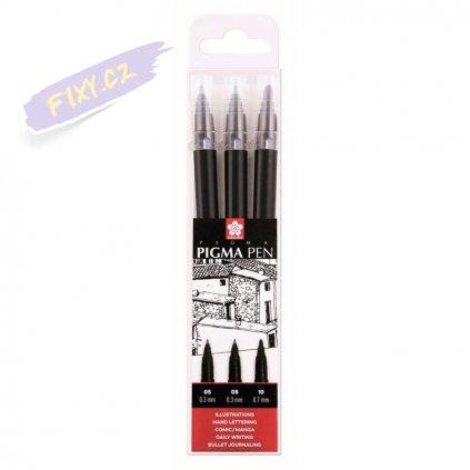 26154 2 sakura pigma pen set 3ks