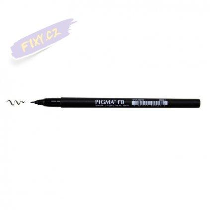26157 2 sakura pigma pen brush tenky cerna