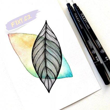 2640 2 liner touch sada 7ks barevna 0 1mm